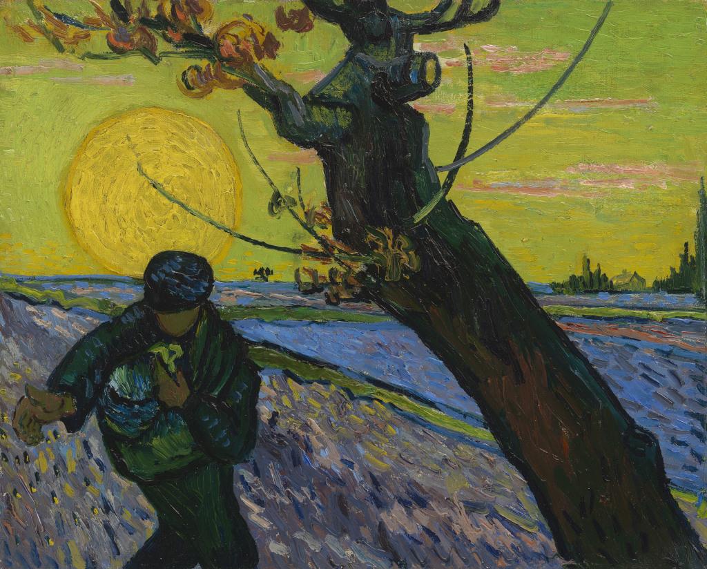 Van Gogh Le Semeur - Au dela des etoiles, le paysage mystique de Monet a Kandinsky - Musee d'Orsay