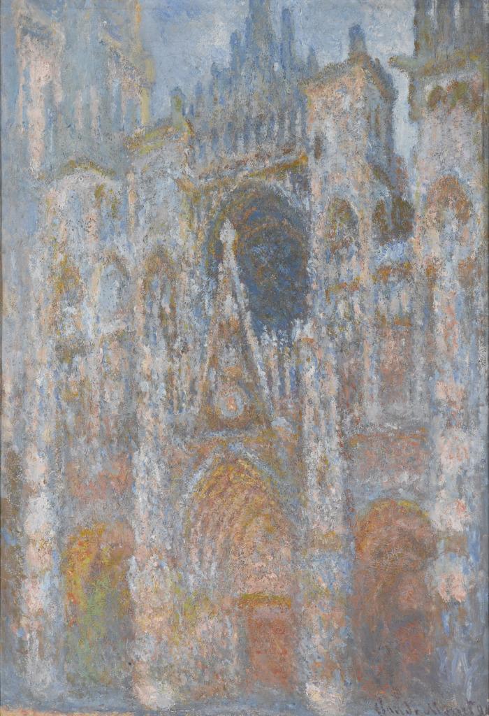 Monet_Cathedrale de Rouen Au dela des etoiles, le paysage mystique de Monet a Kandinsky - Musee d'Orsay