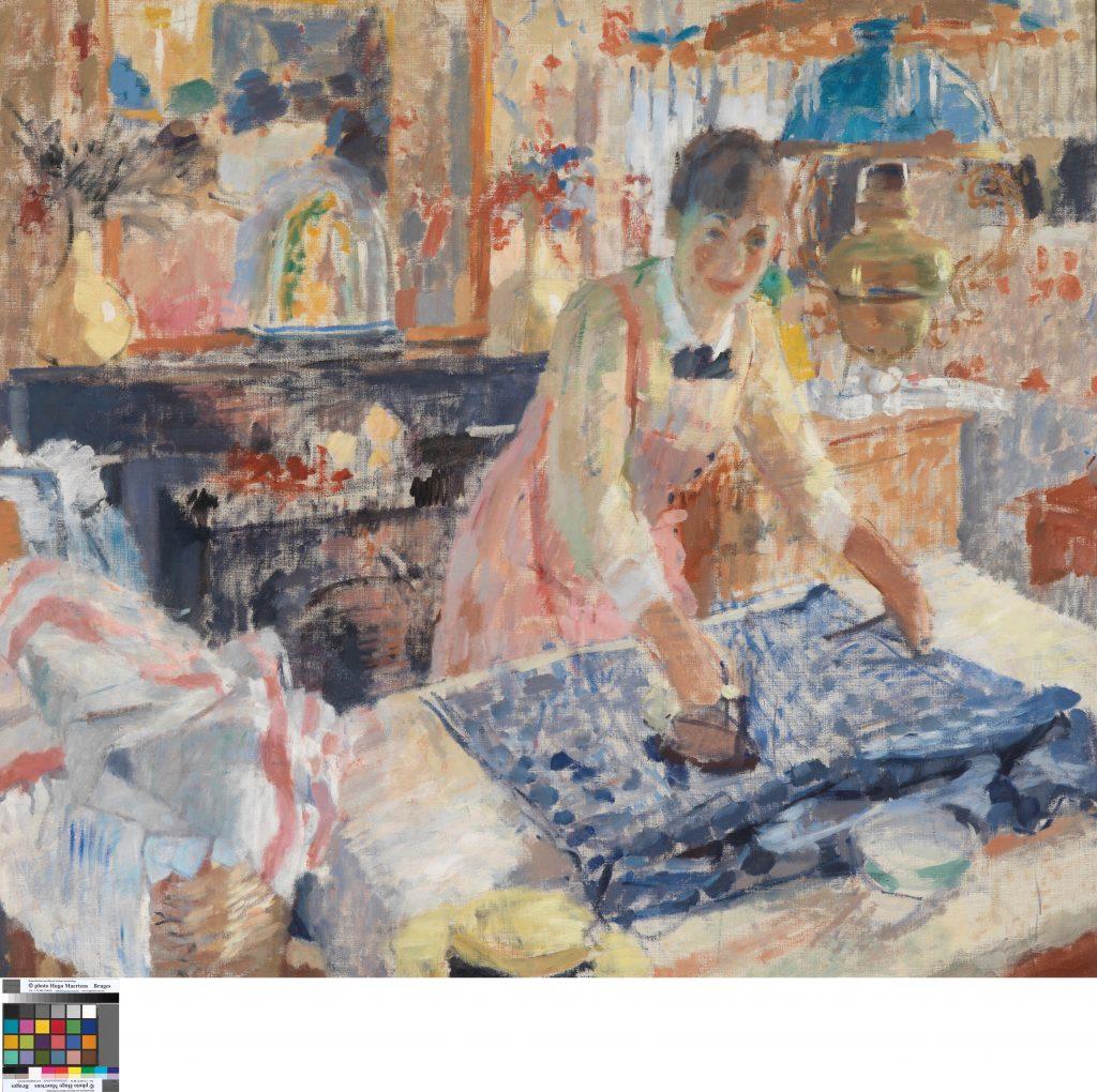 RIK-WOUTERS - Ironing- Musée Royal des Beaux Arts en Belgique - Bruxelles