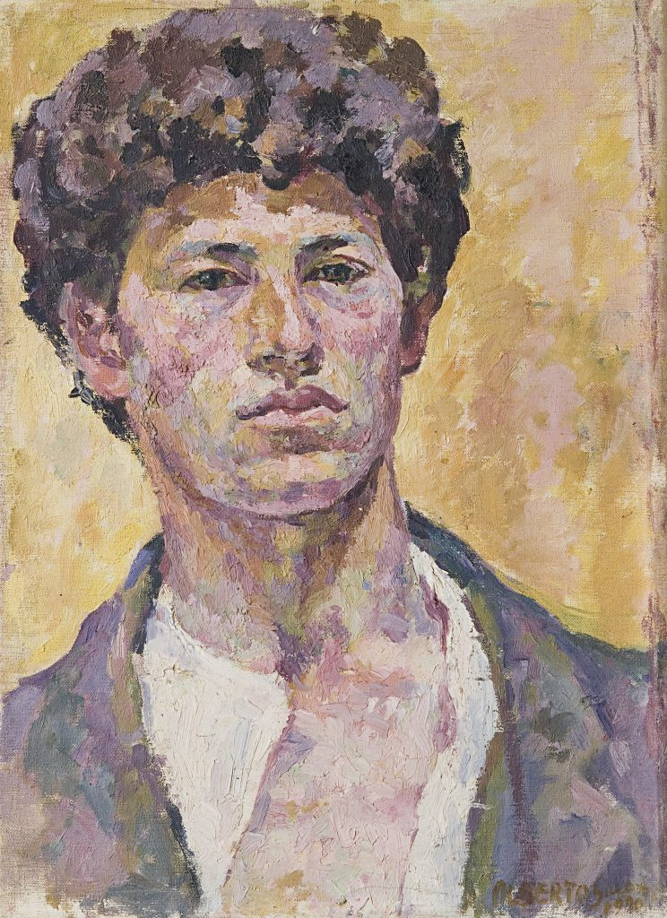 Alberto Giacometti (1901-1966), Autoportrait, 1920 Fondation Beyeler, Riehen/Basel.
