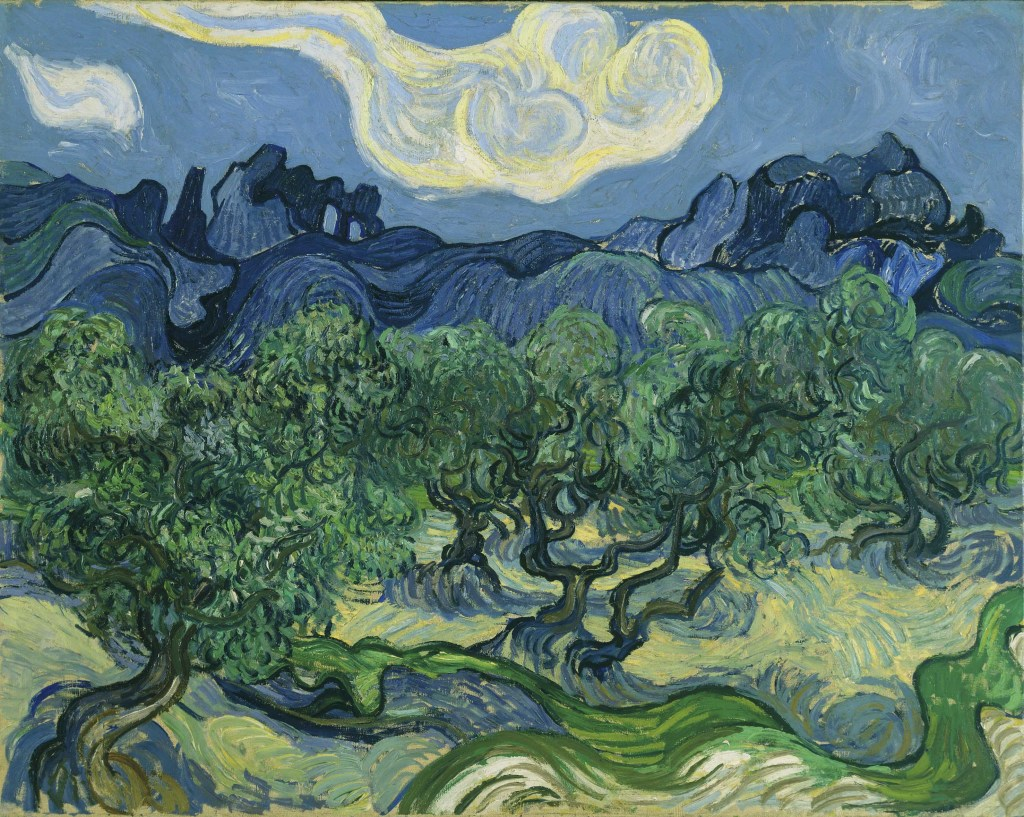 Van Gogh Les Oliviers - Au dela des etoiles, le paysage mystique de Monet a Kandinsky - Musee d'Orsay