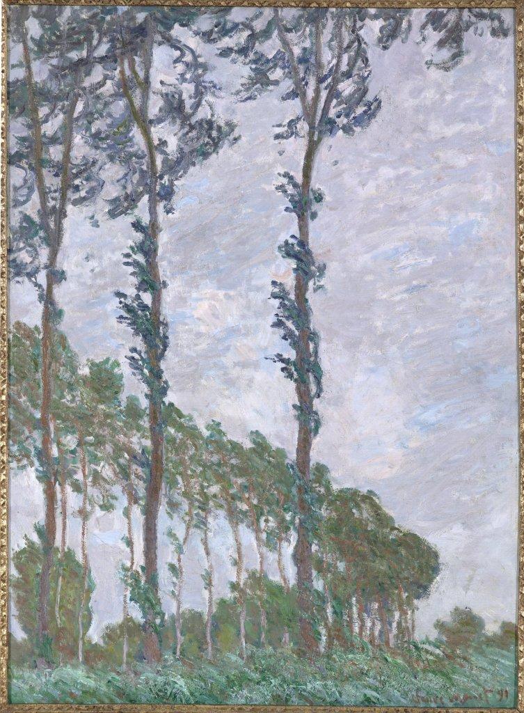 Monet Effet de vent Au dela des etoiles, le paysage mystique de Monet a Kandinsky - Musee d'Orsay