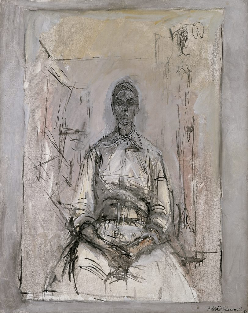 Alberto Giacometti (1901-1966), Aïka, 1959