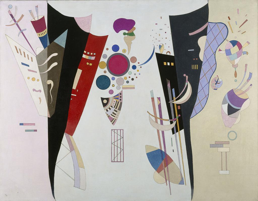 Kandinsky Accord reciproque Au dela des etoiles, le paysage mystique de Monet a Kandinsky - Musee d'Orsay