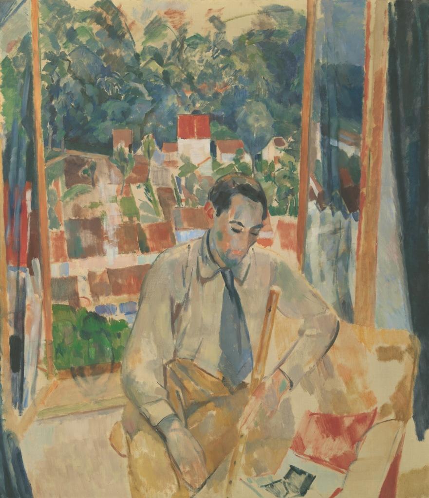 The flute player - Rik Wouters - Musée Royal des Beaux Arts en Belgique - Bruxelles