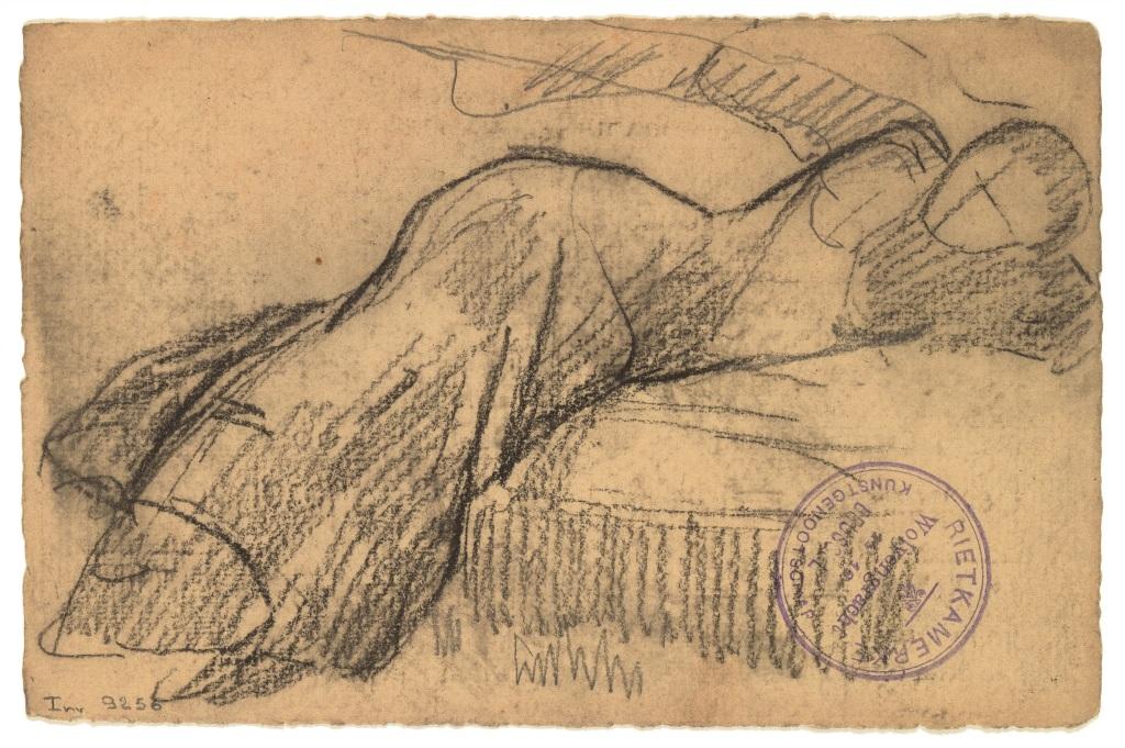 Woman resting - Rik Wouters - Musée Royal des Beaux Arts en Belgique - Bruxelles