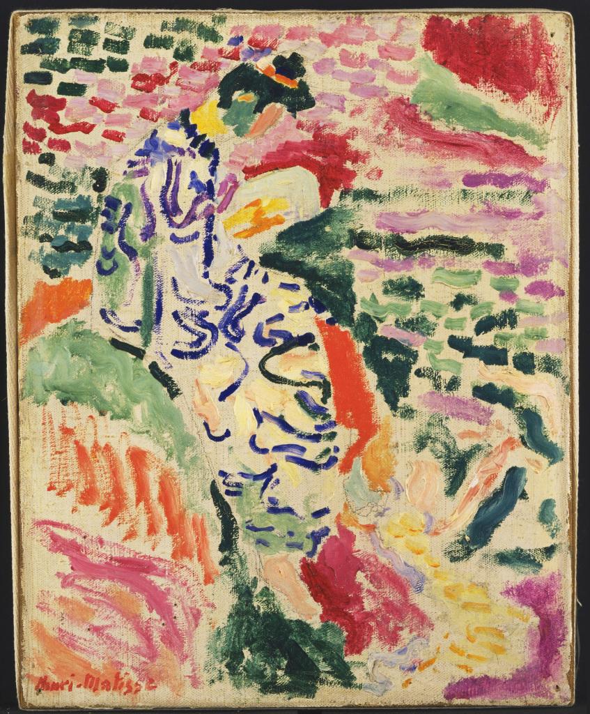 Henri Matisse - Japonaise - Laboratoire d'idee - Musee des beaux arts de Lyon