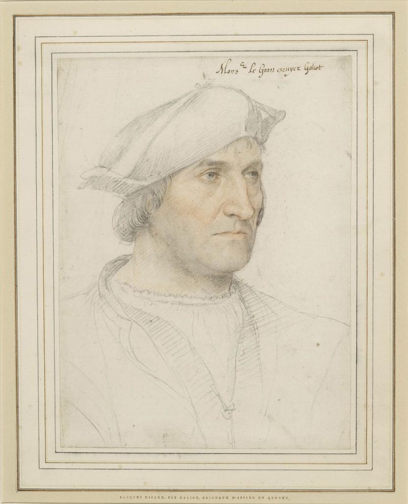Jean Clouet, Portrait de Jacques Ricard