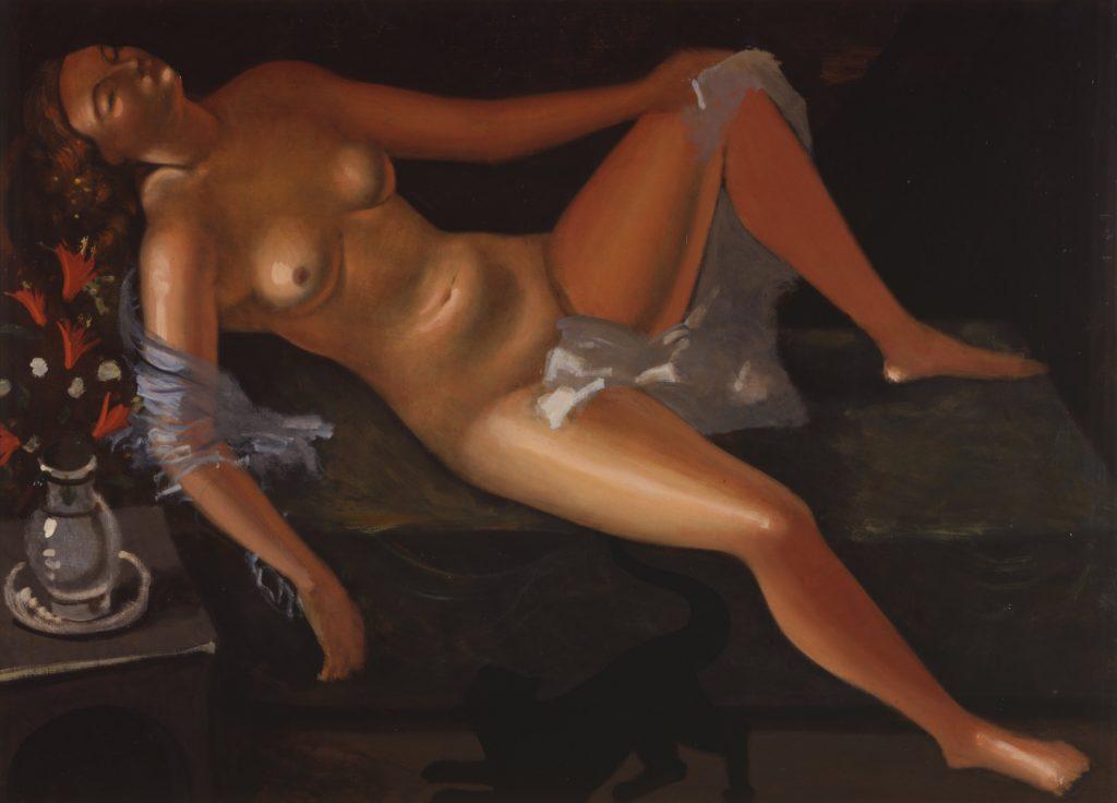 André Derain, Nu au chat (1936-1938) Hokkaido Museum of Modern Art, Sapporo