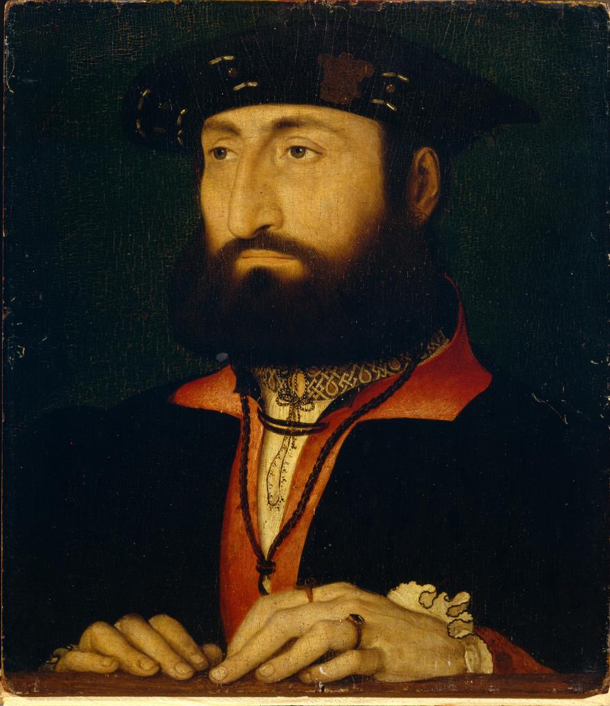 Jean Clouet, Portrait de Louis de Clèves, comte de Nevers