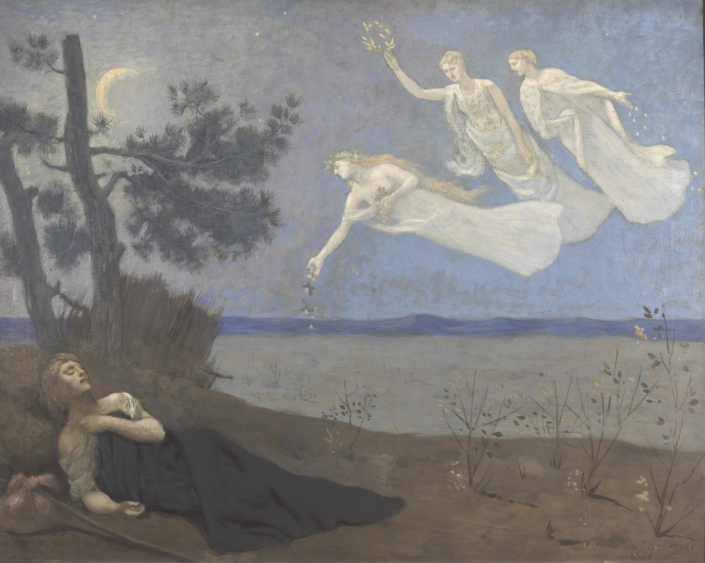 Puvis de Chavannes Le reve - Au dela des etoiles, le paysage mystique de Monet a Kandinsky - Musee d'Orsay Paris