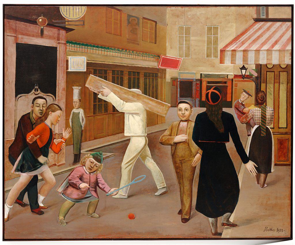 Balthus (dit), Balthasar Klossowski de Rola (1908-2001), La Rue, 1933, New York, Museum of Modern Art (MoMA)