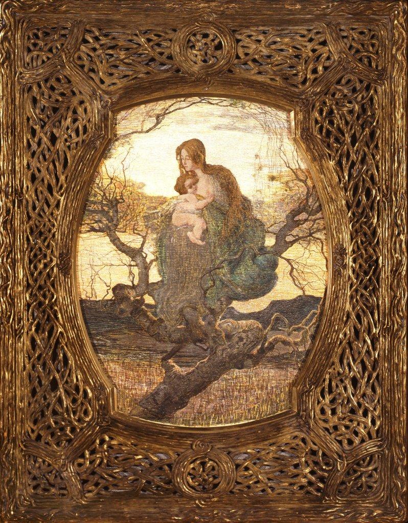 Giovanni Segantini Az Elet Angyala - Au dela des etoiles, le paysage mystique de Monet a Kandinsky - Musee d'Orsay Paris