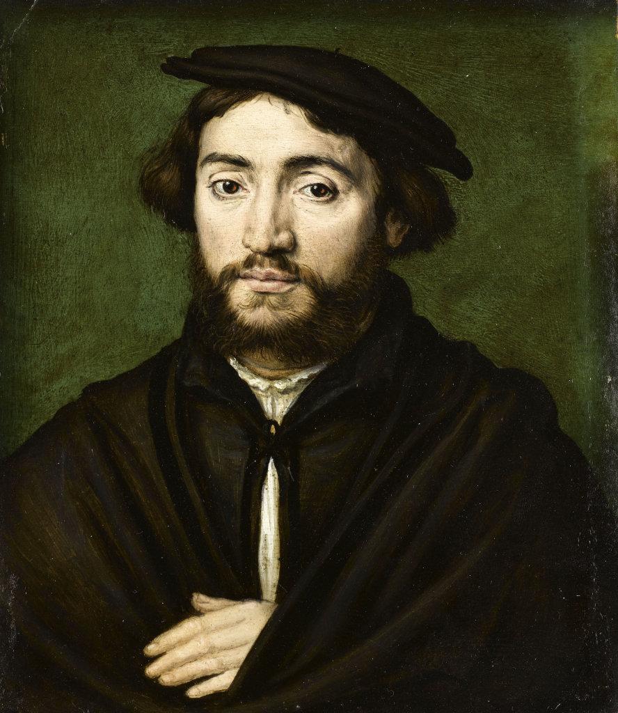 Corneille de Lyon, Portrait de Pierre Aymeric