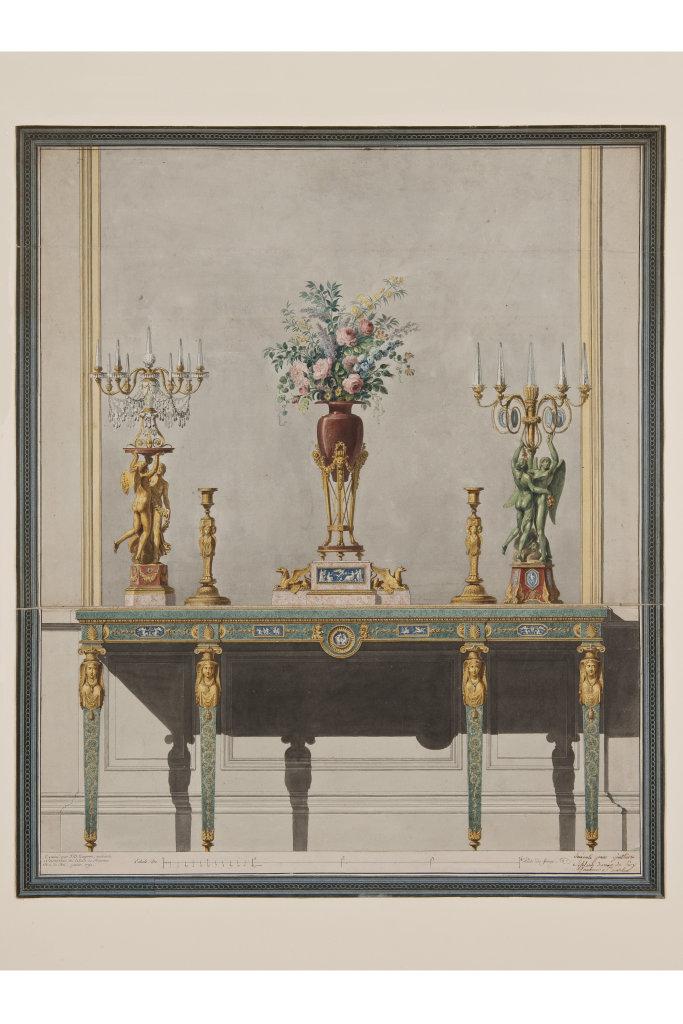 Or virtuose à la Cour de France - Pierre Gouthiere (1732-1813) Musee des Arts Decoratifs