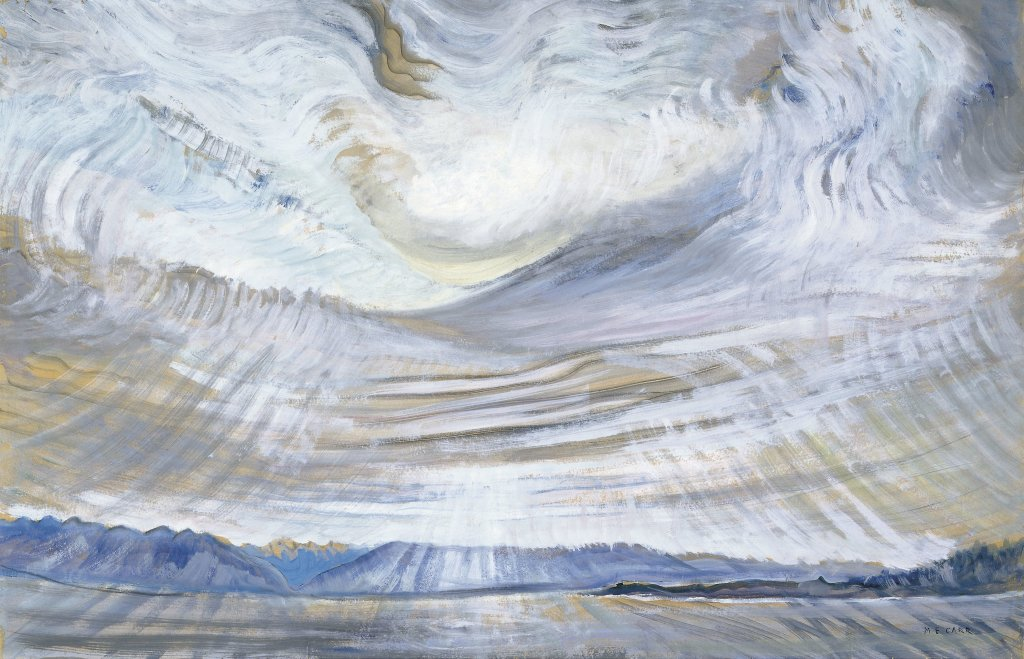Emily Carr Ciel - Au dela des etoiles, le paysage mystique de Monet a Kandinsky - Musee d'Orsay Paris