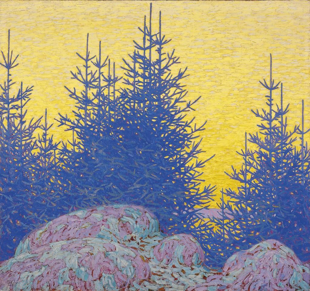 Harris Paysage decoratif - Au dela des etoiles, le paysage mystique de Monet a Kandinsky - Musee d'Orsay Paris