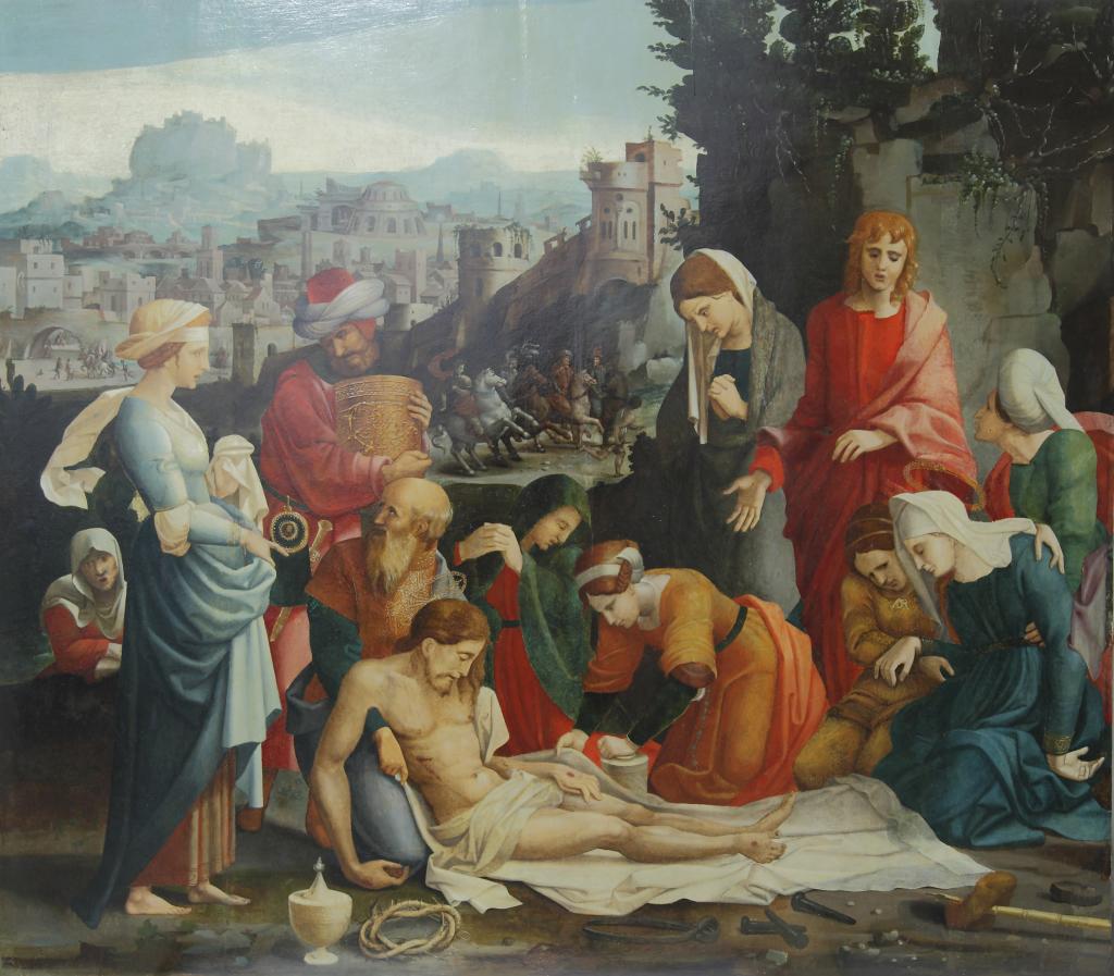Grégoire Guérard, Saint-Quentin, la Déploration du Christ, Lille, DRAC, Hauts-de-France