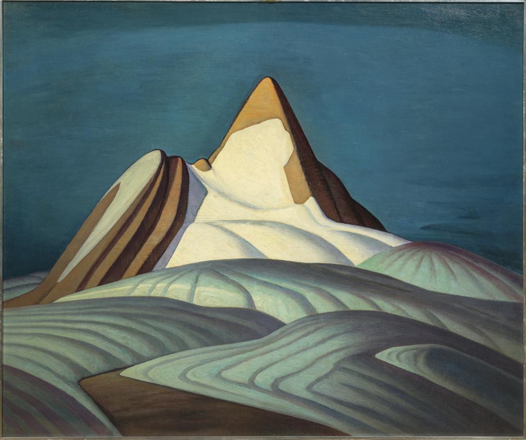 G Harris Lawren Isolation Peak 1930 - Au dela des etoiles, le paysage mystique de Monet a Kandinsky - Musee d'Orsay Paris
