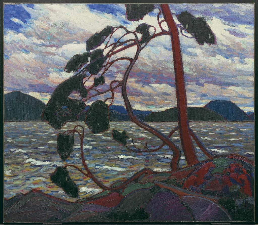 G Thomson Tom - The West Wind - Au dela des etoiles, le paysage mystique de Monet a Kandinsky - Musee d'Orsay Paris