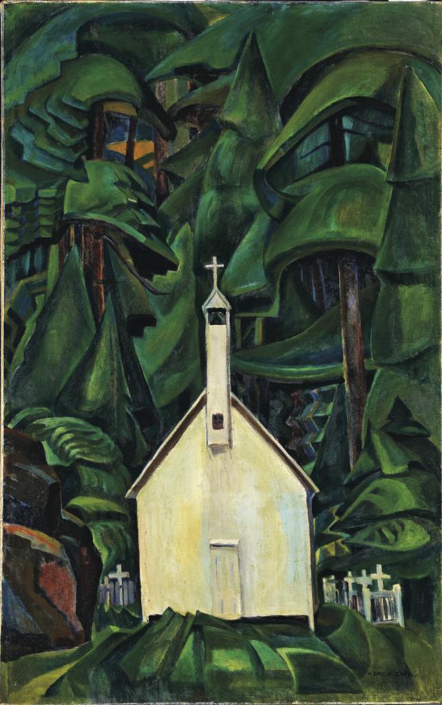 G AGO Carr ndian Church Locopy - Au dela des etoiles, le paysage mystique de Monet a Kandinsky - Musee d'Orsay Paris