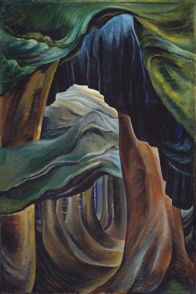 G Carr Emily Forest British Columbia 1931 - Au dela des etoiles, le paysage mystique de Monet a Kandinsky - Musee d'Orsay Paris