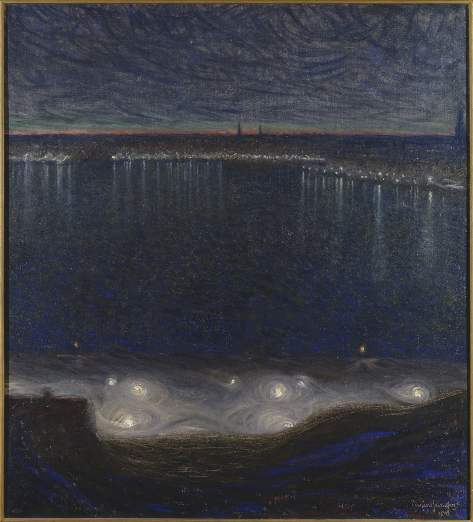 Eugene Jansson Riddarfjarden i Stockholm - Au dela des etoiles, le paysage mystique de Monet a Kandinsky - Musee d'Orsay Paris