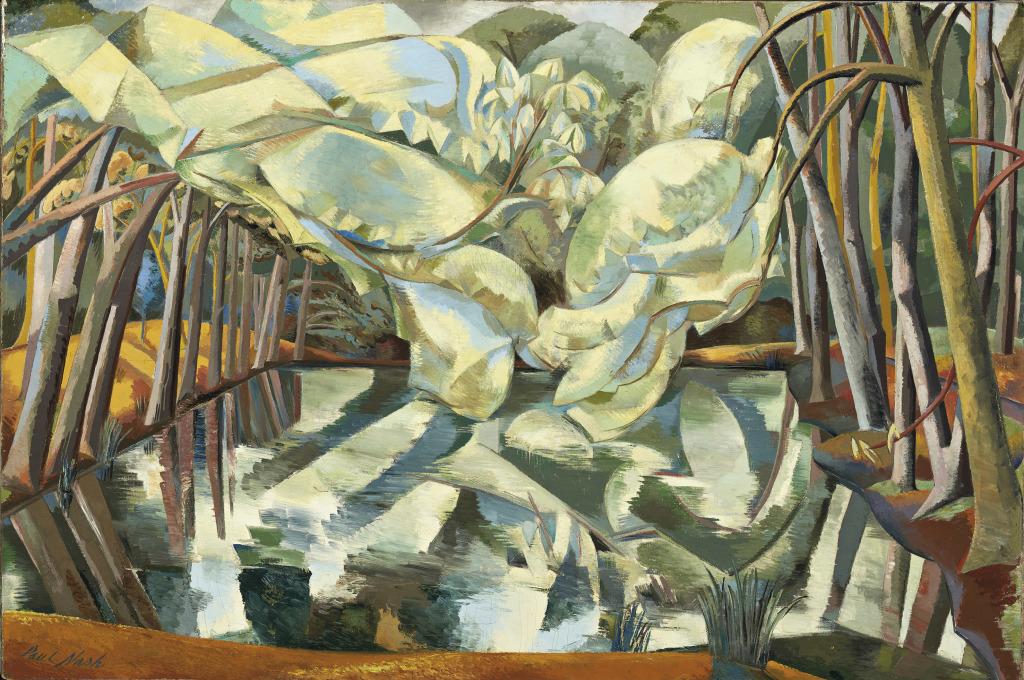 Nash Paul Chestnut Waters 1923 - Au dela des etoiles, le paysage mystique de Monet a Kandinsky - Musee d'Orsay Paris