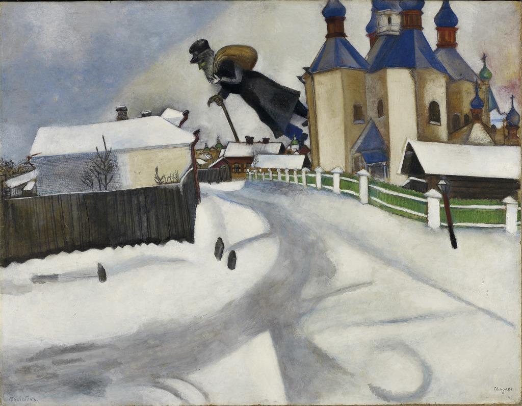 Estate of Marc Chagall - Au dela des etoiles, le paysage mystique de Monet a Kandinsky - Musee d'Orsay Paris