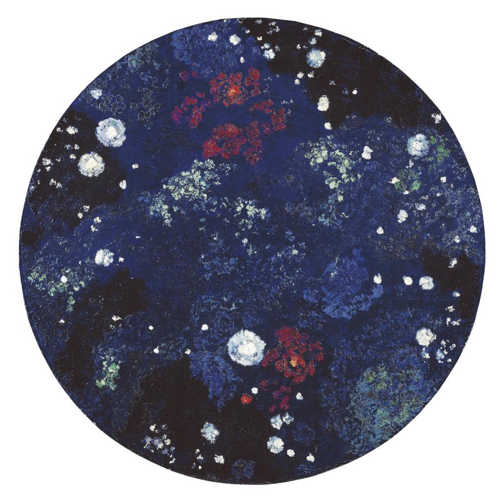 Giacometti Augusto Sternenhimmel Milchstrasse 1917 - Au dela des etoiles, le paysage mystique de Monet a Kandinsky - Musee d'Orsay Paris