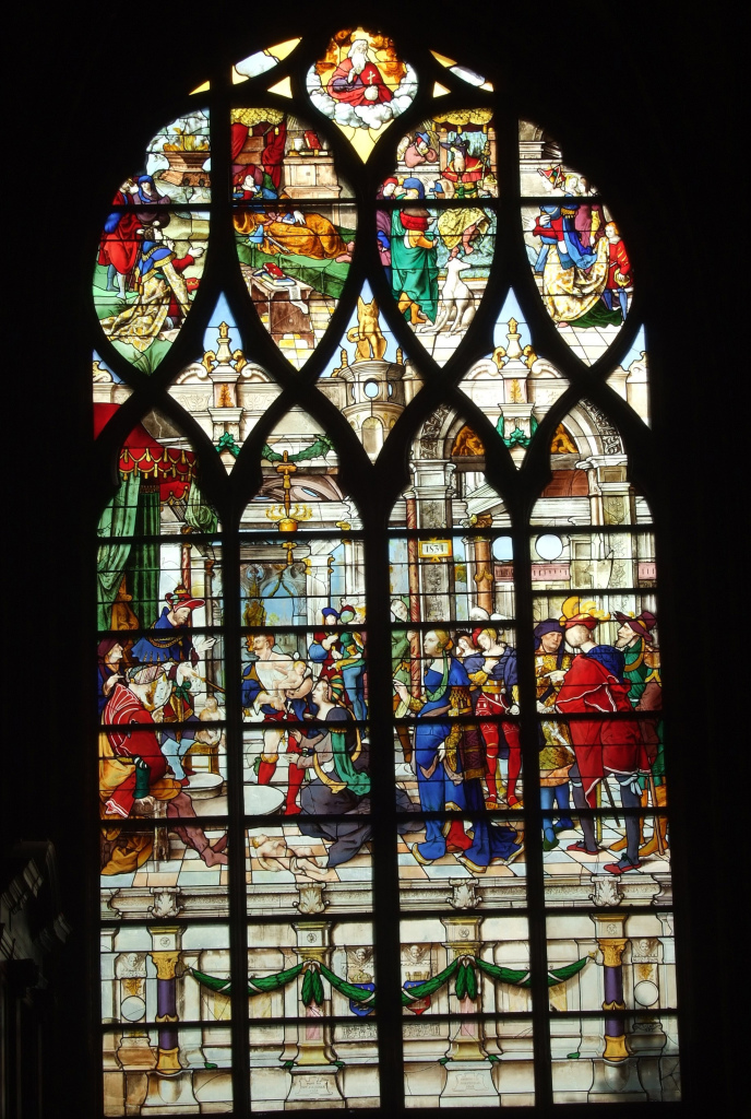 Noël Bellemare, La Sagesse de Salomon, Paris, Eglise Saint Gervais-Saint Protais