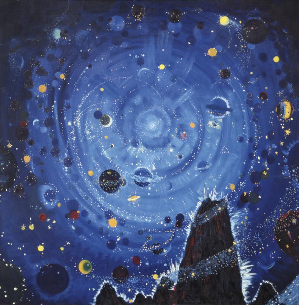 Hablik Starry Night - Au dela des etoiles, le paysage mystique de Monet a Kandinsky - Musee d'Orsay Paris
