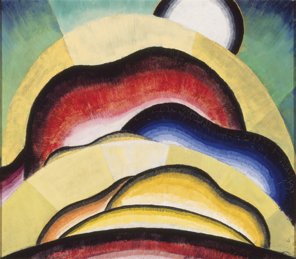 Dove Sunrise - Au dela des etoiles, le paysage mystique de Monet a Kandinsky - Musee d'Orsay Paris