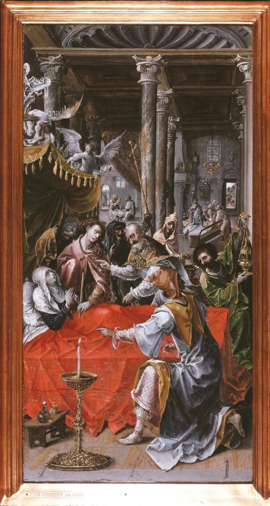Maître d'Amiens, La Mort de la Vierge