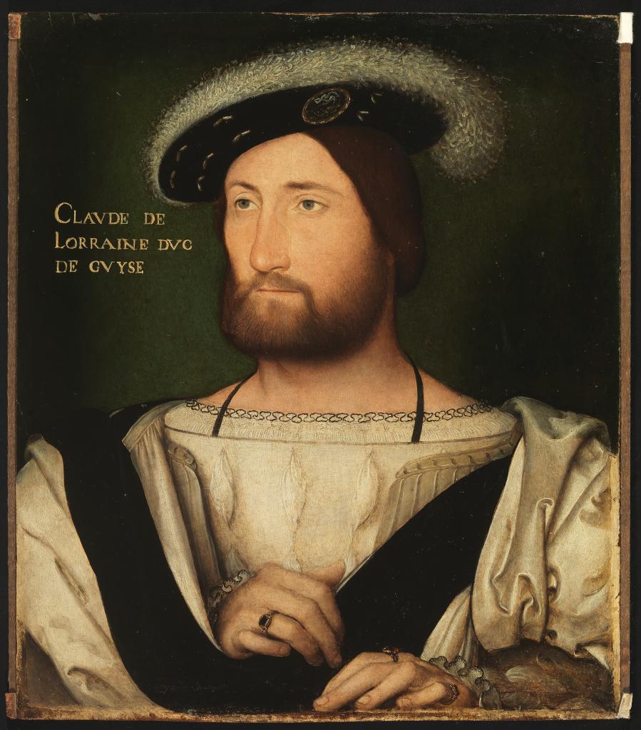 Jean Clouet, Portrait de Claude de Guise
