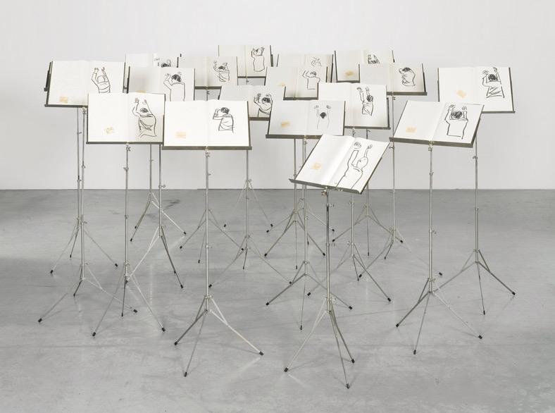 Souterrain, Adel Abdessemed, 2007 - 100 Chefs d'oeuvre de l'Art moderne et contemporain arabe, la Collection Barjeel a l'IMA