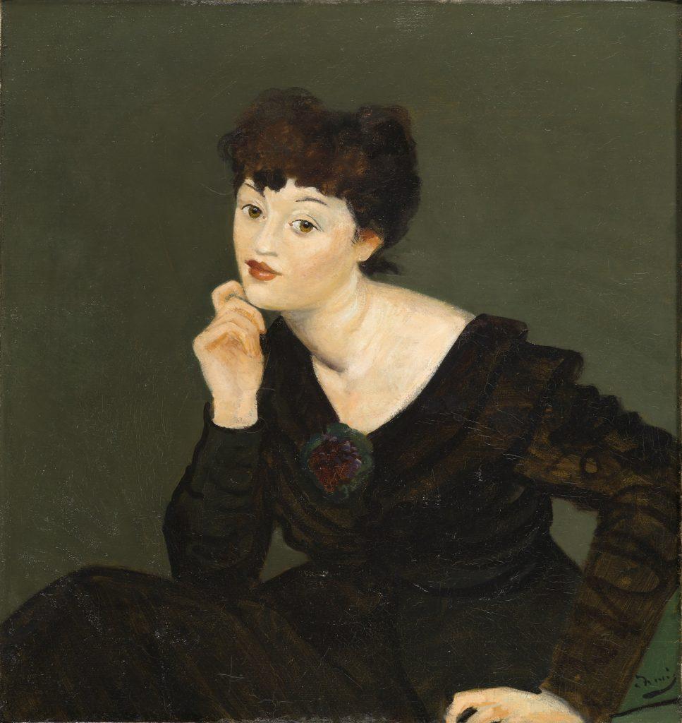 Andre Derain, Isabel Lambert, 1934-1939 - Exposition Derain, Balthus, Giacometti au Musee d'Art Moderne de Paris