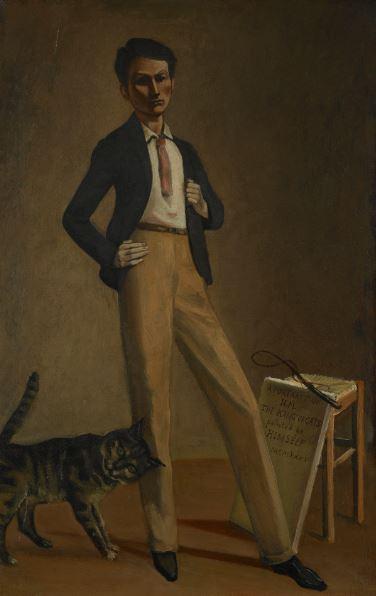 Balthus (1908 - 2001), Le Roi des chats, 1935 - Exposition Derain, Balthus, Giacometti au Musee d'Art Moderne de Paris 2017
