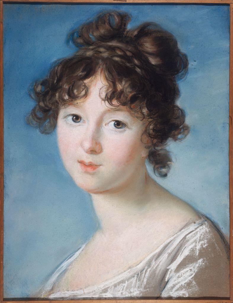 Elisabeth Vigée Le Brun, La Princesse Radziwill, vers 1800-1801 - L'art du pastel de Degas à Redon au Petit Palais