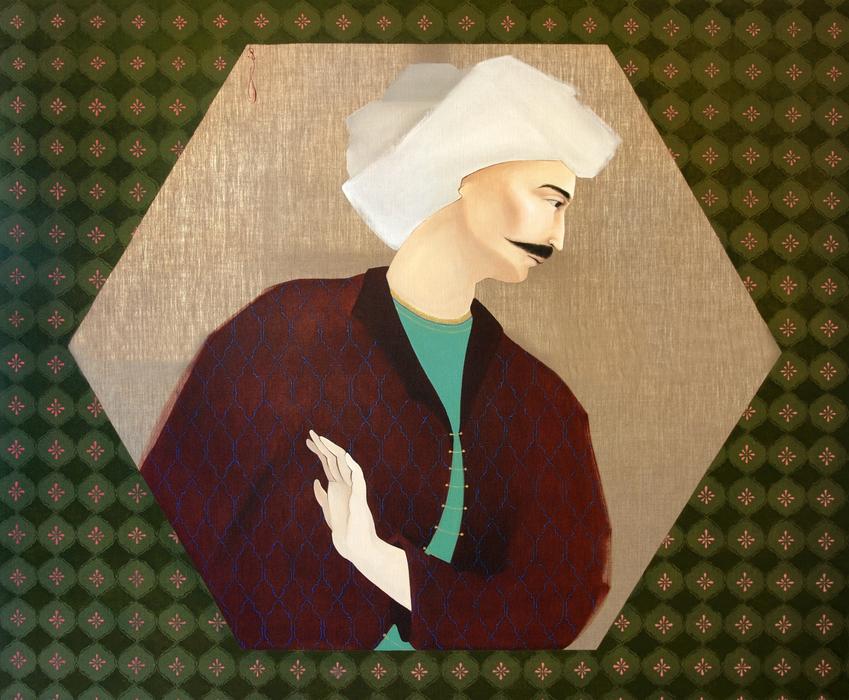 Khosrow, Hayv Kahraman, 2009 - 100 Chefs d'oeuvre de l'Art moderne et contemporain arabe, la Collection Barjeel a l'IMA