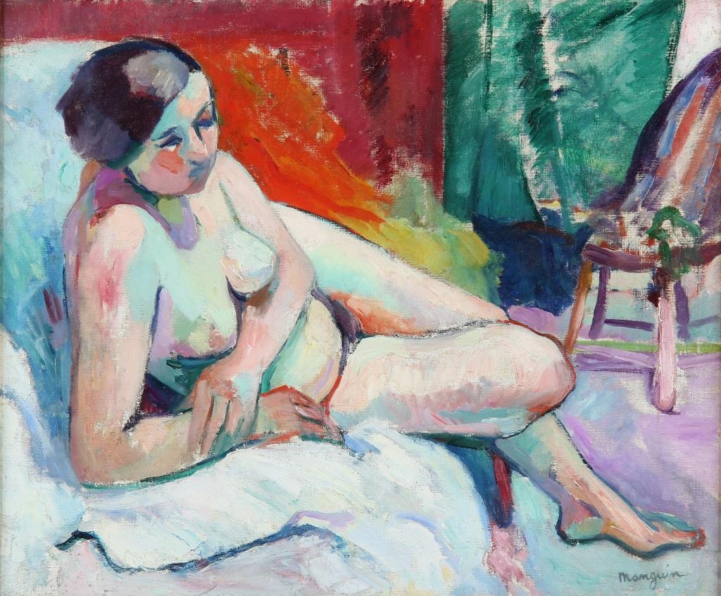 Henri Manguin La Gitane a l'atelier, 1906 - La volupte de la couleur au musee des impressionnismes de Giverny