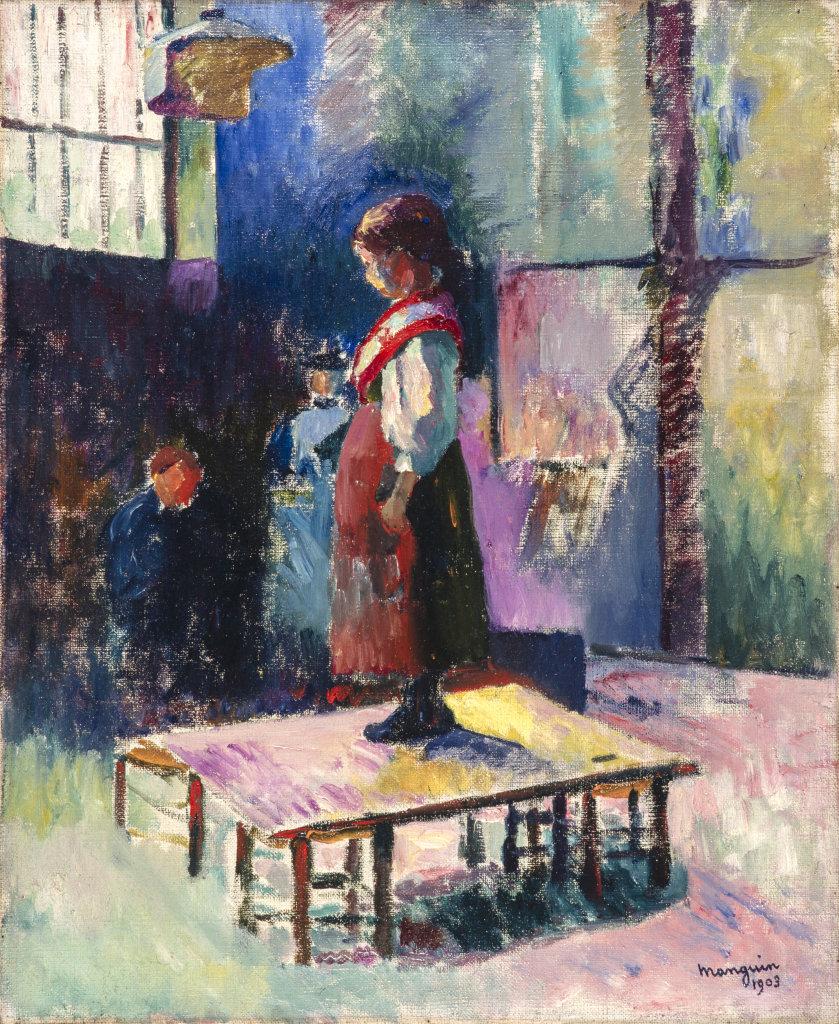 Henri Manguin, La petite italienne, 1903, La volupte de la couleur au musee des impressionnismes de Giverny