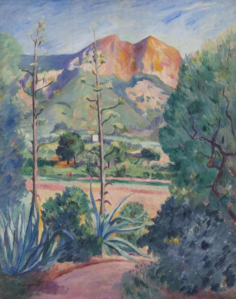 Henri Manguin Les Aloes en fleurs a Cassis, 1913 1909 - La volupte de la couleur au musee des impressionnismes de Giverny