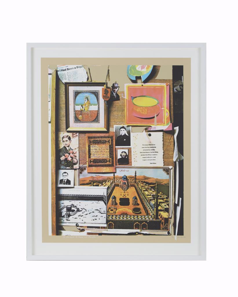 The Caravan, Five Stops on the Route, Jafar Islah - 100 Chefs d'oeuvre de l'Art moderne et contemporain arabe, la Collection Barjeel a l'IMA