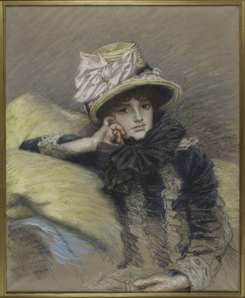 James Tissot, Berthe, vers 1883 - L'art du pastel de Degas à Redon au Petit Palais