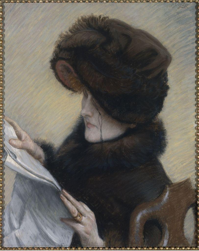 James Tissot, Le Journal, vers 1883 - L'art du pastel de Degas à Redon au Petit Palais
