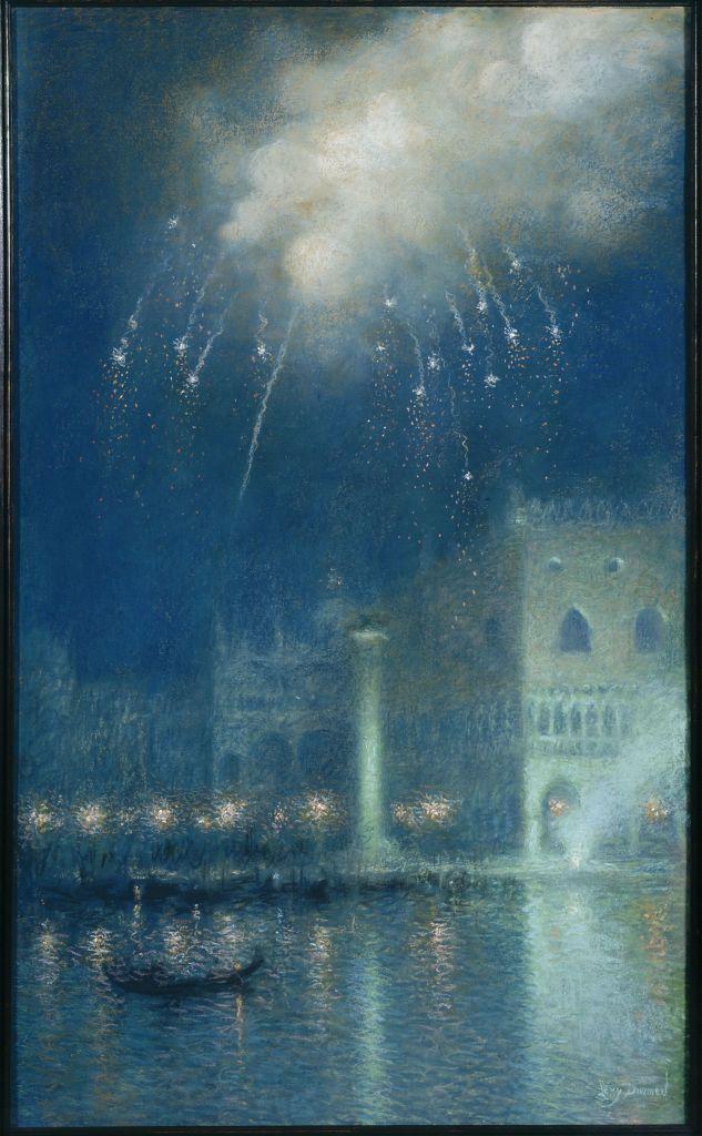 Lucien Lévy-Dhurmer, Feu d'artifice à Venise - L'art du pastel de Degas à Redon au Petit Palais