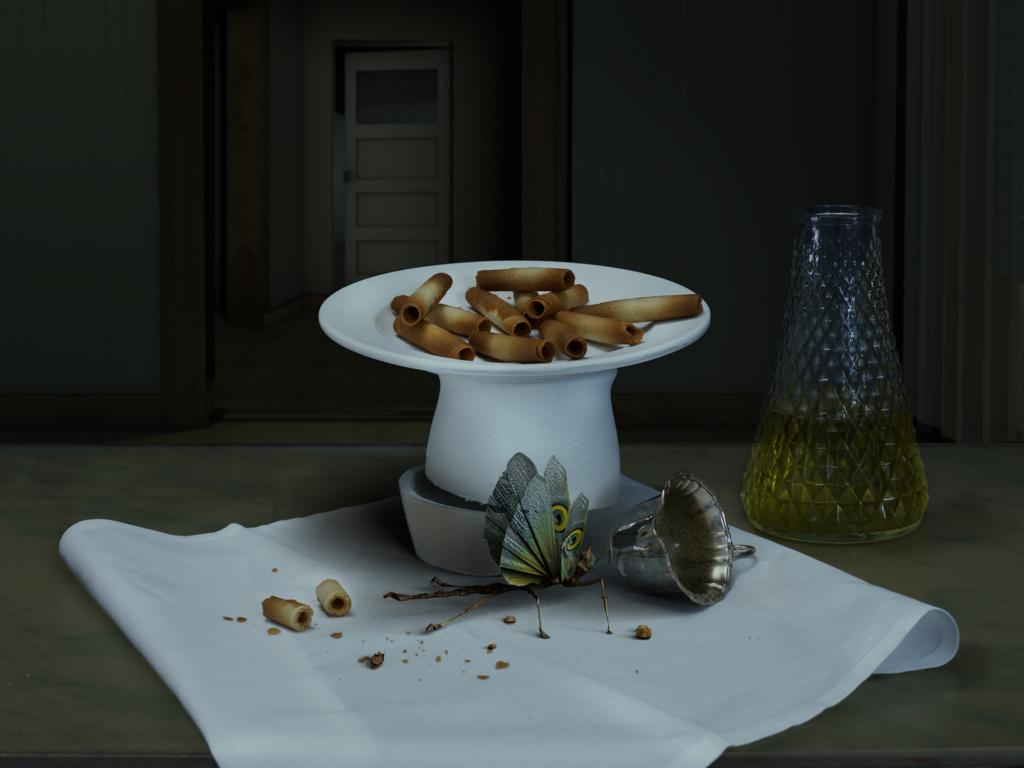 Madeleine Aucun mythe pour ces contrees de l'esprit, exposition d'Alex Verhaest - Centre des arts d'Enghien-les Bains