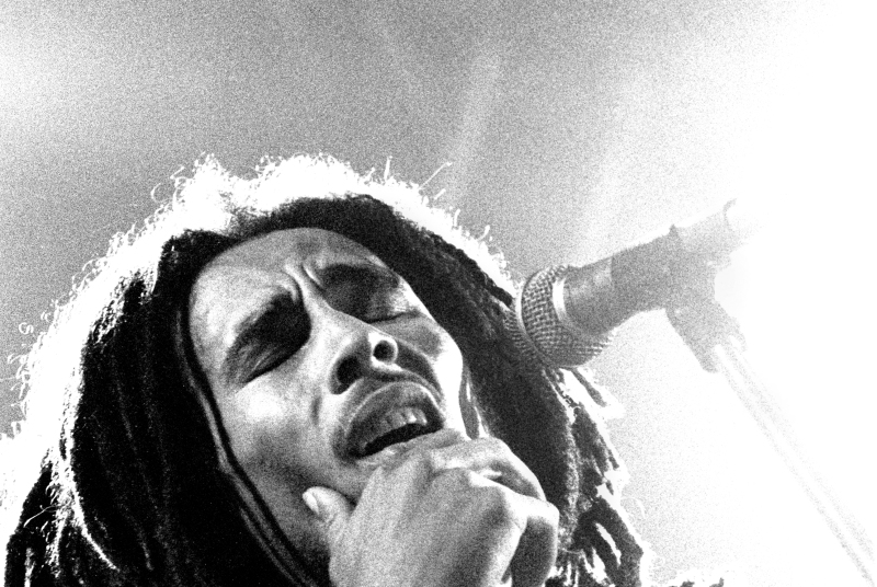 Bob Marley, The Hague (Voorburg), Netherlands 1976 den haag, Netherlands - 1976,  (Photo Gijsbert Hanekroot/Redferns) *** Local Caption *** Bob Marley and the Wailers