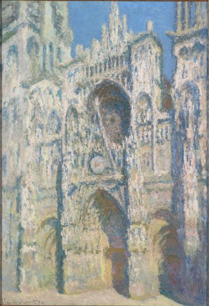 Monet Cathédrale de Rouen - Au dela des etoiles, le paysage mystique de Monet a Kandinsky - Musee d'Orsay Paris
